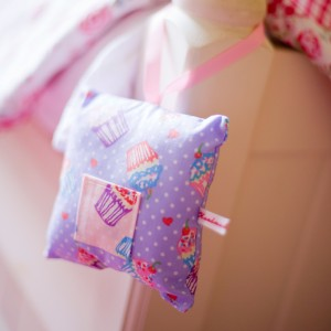 Toothfairy cushion - cupcake design