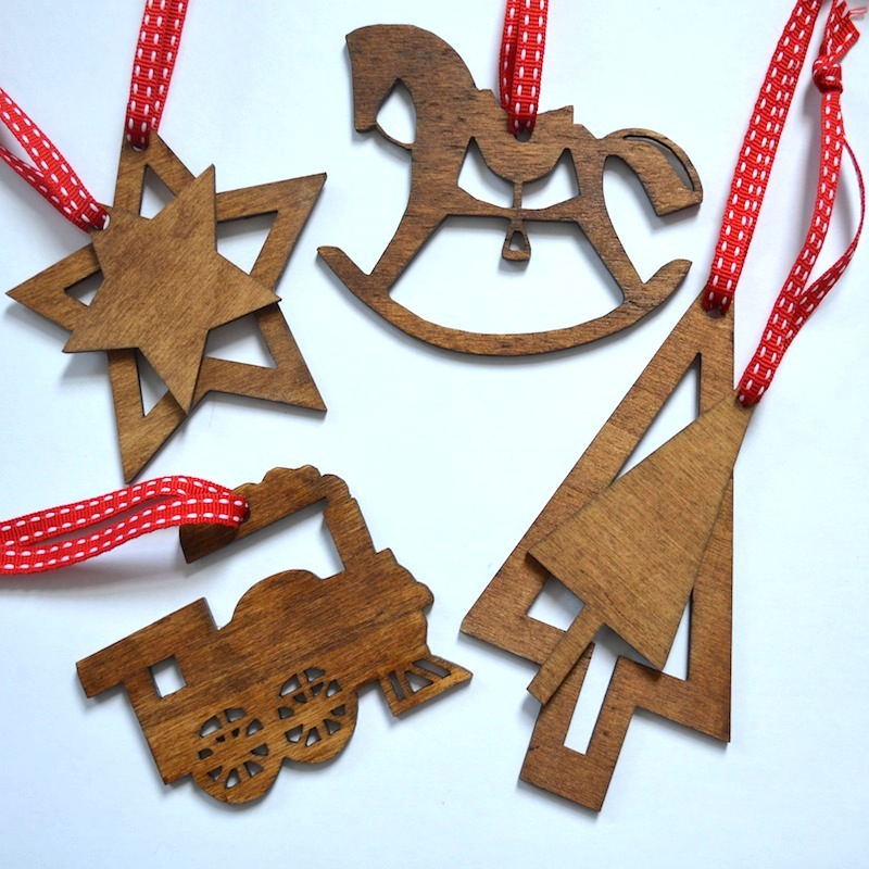 Handmade Christmas Decorations As Free Gifts Well They
