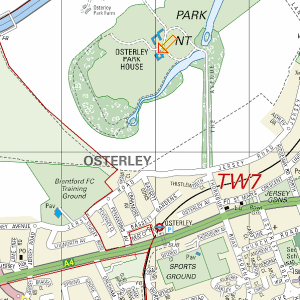 OSterley Park Map