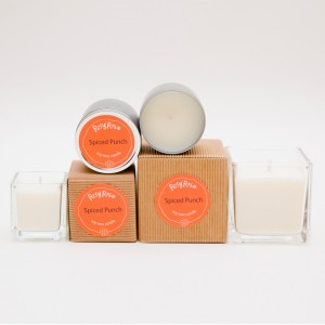 Spiced Punch - handmade scented soy wax candle by Rosy Rosie