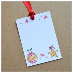 Christmas Gift Tags - free with every Rosy Rosie order