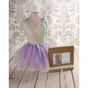 Make your own Tutu and Ribbon Wand set - Box Contents