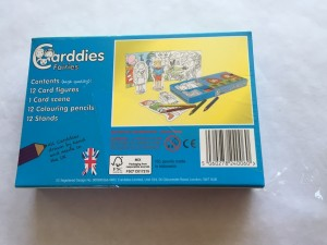 Carddies Fairies set - slightly torn cellophane - was £9 now £4.50