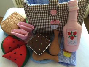 Ex-display Picnic Fabric Play Bag - was £35 now £16