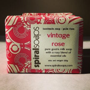 Beautifully packaged handmade soap with a social conscince