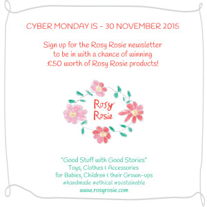 Sign up for the Rosy Rosie newsletter to be in with a chance of winning £50 worth of 'Good Stuff'