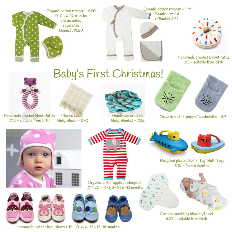 Baby's First Christmas - Present Ideas from Rosy RosieRosy Rosie