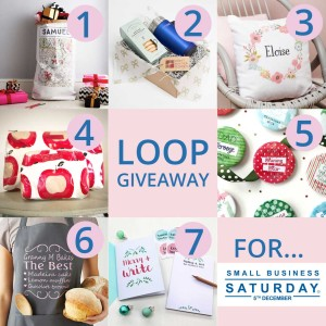 Seven fantastic prizes to be won in instagram loop giveaway