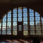 Ellis Island window