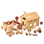 Wooden Barn Set by Lanka Kade